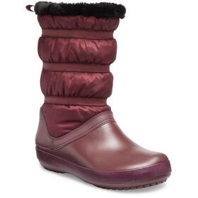 Crocs Crocband Botas Invierno Mujer, burgundy
